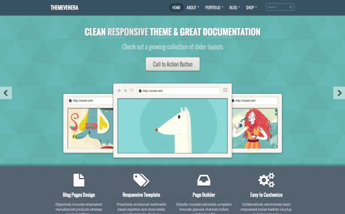 Venera WordPress theme