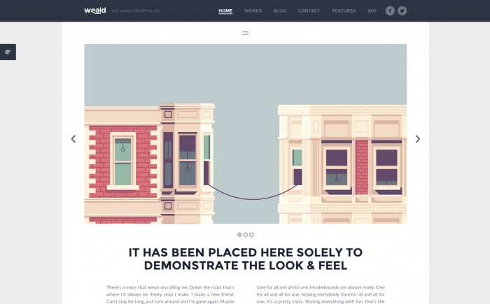 Weald WordPress theme