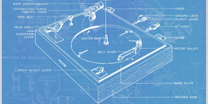 Blueprint for a record player