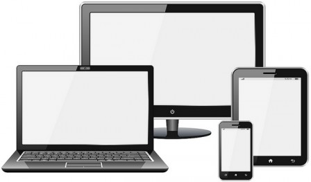 Different devices for viewing the web.