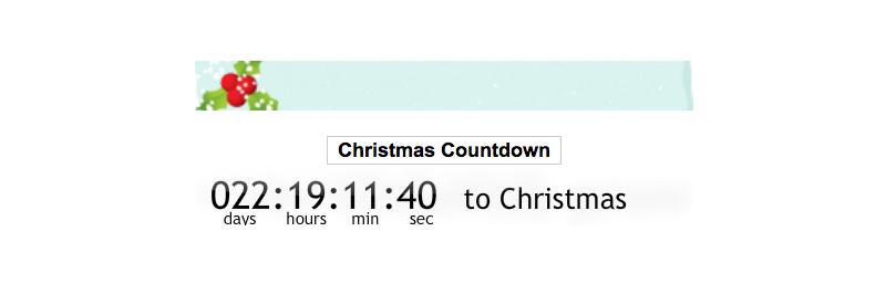 christmas-cuenta regresiva del reloj
