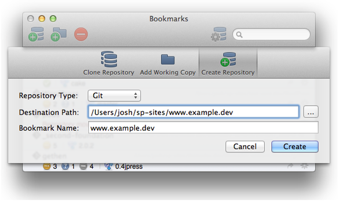 SourceTree is a fully-featured Git GUI tool.