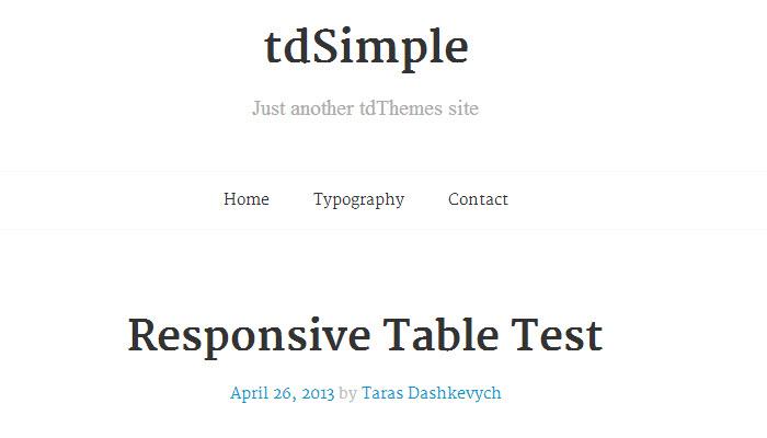 tdSimple-2