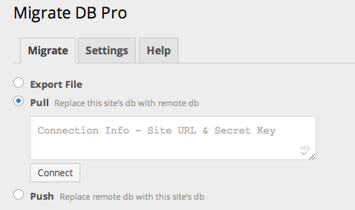 WP Migrate DB Pro allows you to easily keep the databases of your local and live sites in sync.