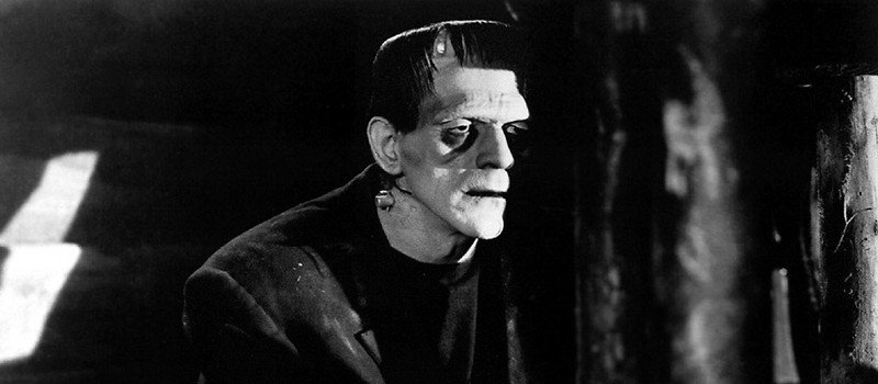 Photo of Boris Karloff as Frankenstein's Monster