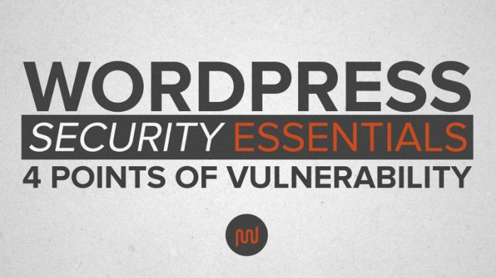 The most valuable security measure is properly managing your WordPress site