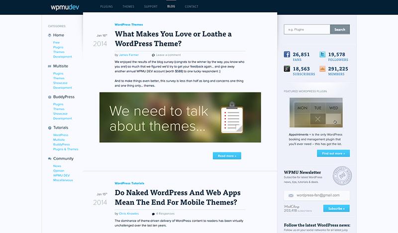 Free Wordpress Themes The Ultimate Guide Wpmu Dev