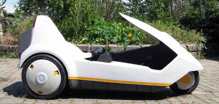 Photo of a Sinclair C5