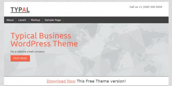 Free wordpress business themes 60 of the best wpmu dev 4 typal cheaphphosting Gallery