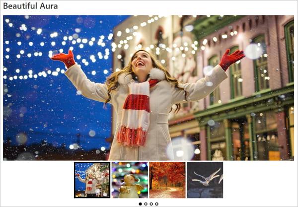 Ultimate Responsive Image Slider demo slider