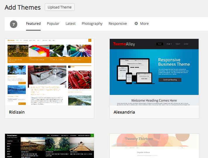 Add themes