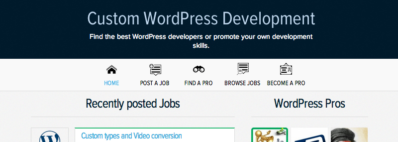 Jobs & Pros