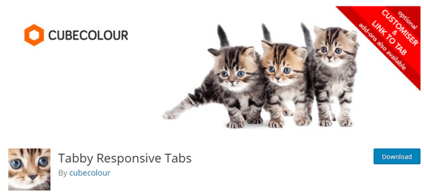 image from WP.org of tabby responsive tabs