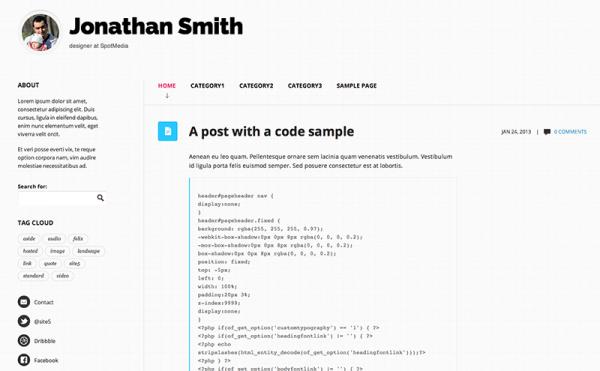 30 Quality Free Minimalist And Stunning Wordpress Themes Wpmu Dev