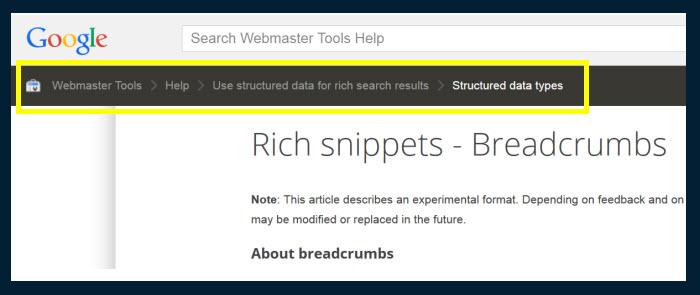 google-breadcrumbs
