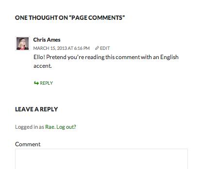 Read comment