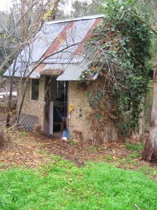 Mudbrick shed