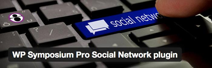 WP-Symposium Pro Social network plugin