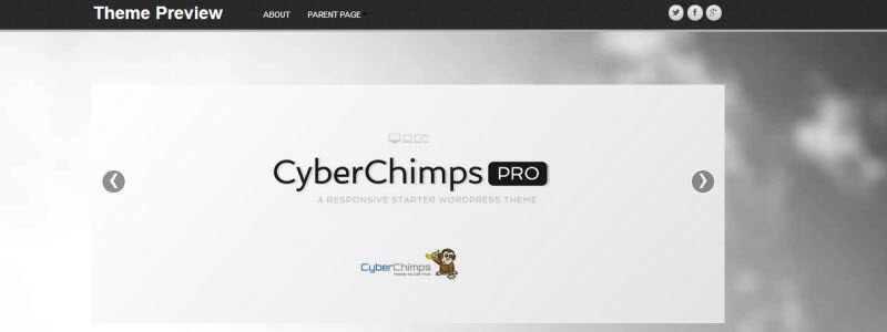 cyberchimps-parallax
