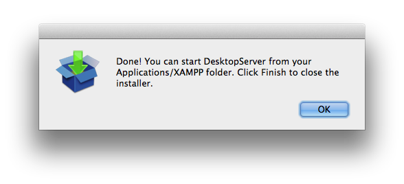 DesktopServer installation
