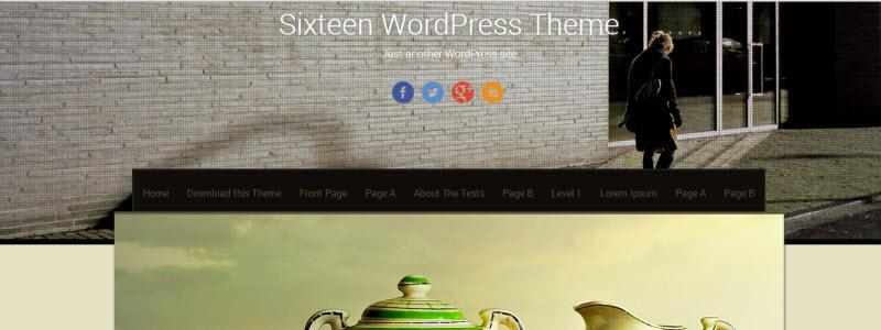 sixteen-theme