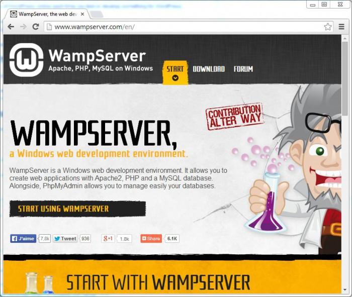 WampServer site