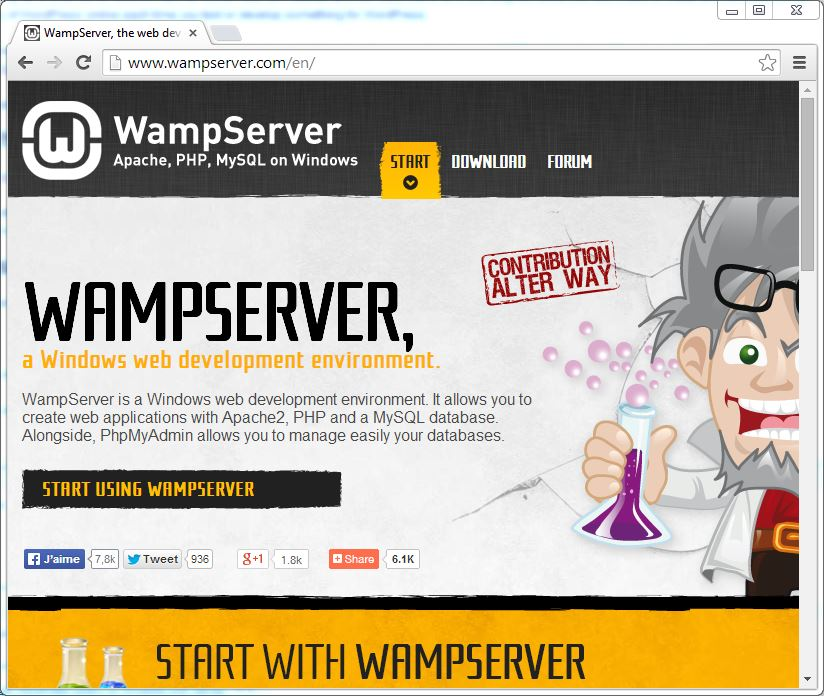 Setting Up WordPress Locally for PC/Windows with WampServer