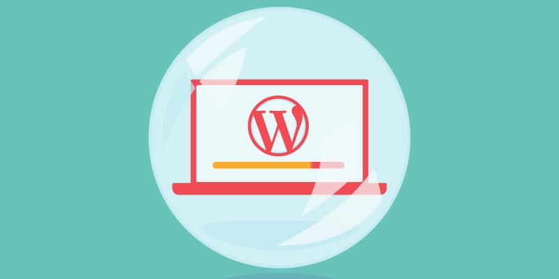 WordPress local install