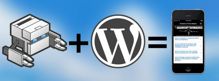 PhoneGap Build + WordPress = Mobile App