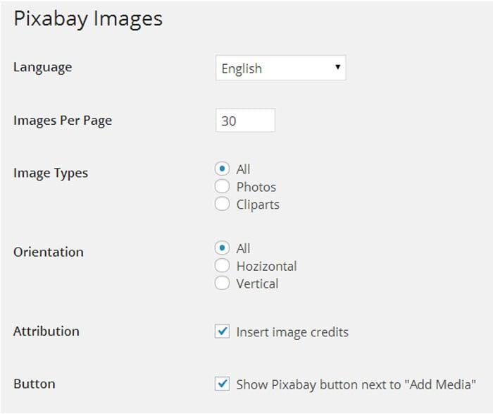 pixabay-images-settings
