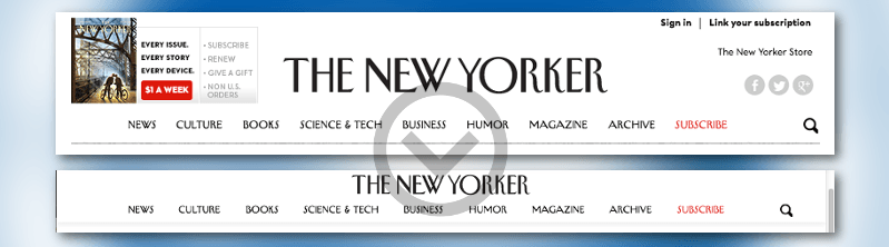 How To Add A New Yorker Style Header To Your WordPress Site