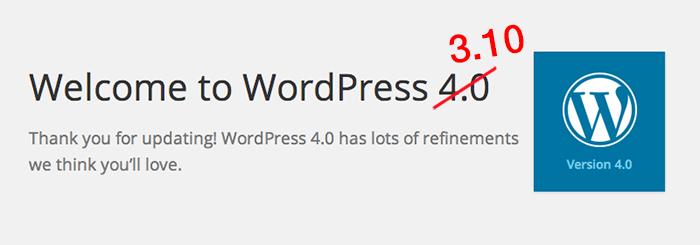 WordPress 3.10