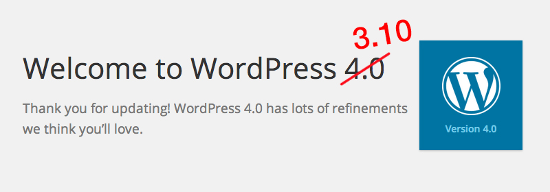 Welcome to WordPress 3.10.