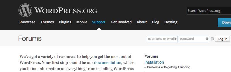 wordpress-forums