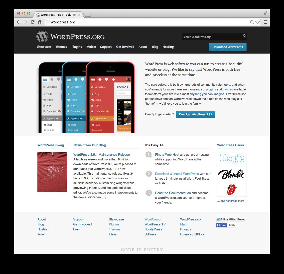 how to create a blog on wordpress 2014