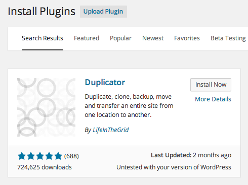 Download Duplicator