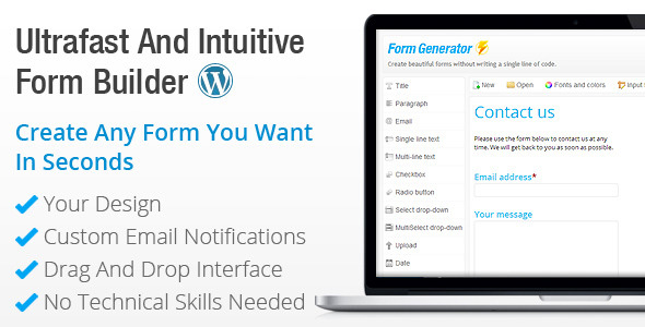 form-generator-wordpress-form-builder