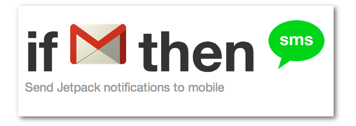 A graphical representation of an IFTTT recipe