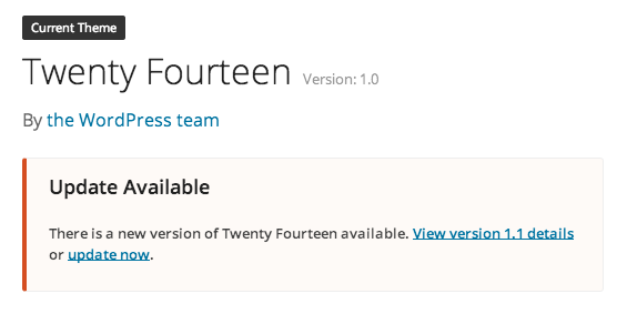 New version available
