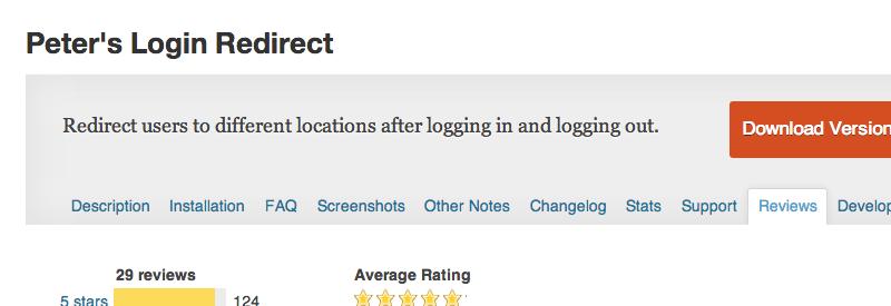 peters-login-redirect