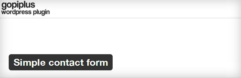 simple-contact-form