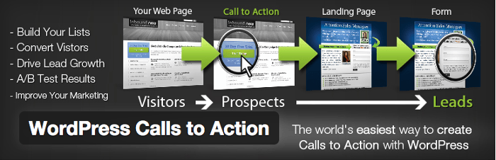 Promo image for WordPress Calls To Action