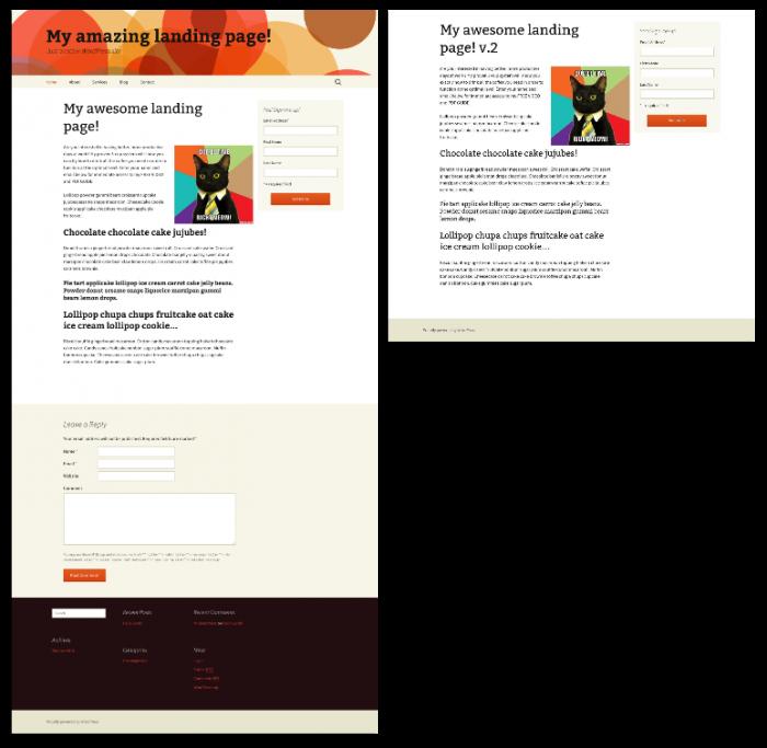 Landing-pages-in-WordPress