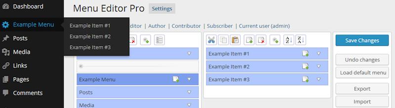 admin-menu-editor-pro