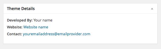 Custom Contact Dashboard Widget for WordPress