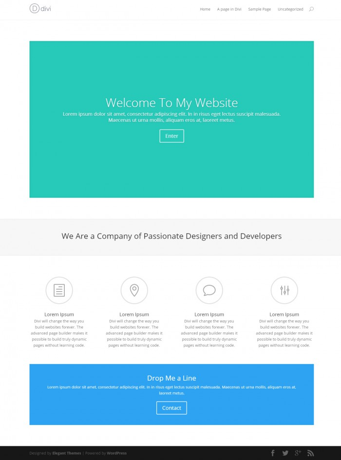 Divi for WordPress theme review