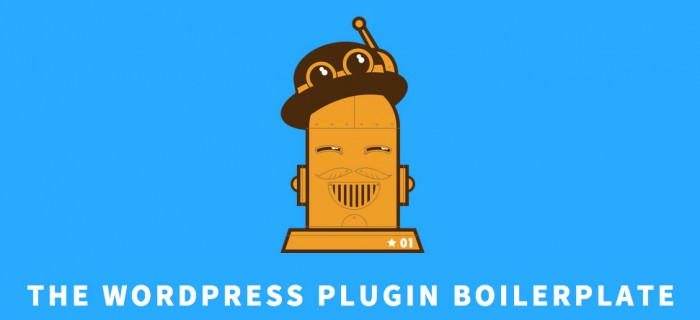 The plugin boilerplate main image and logo