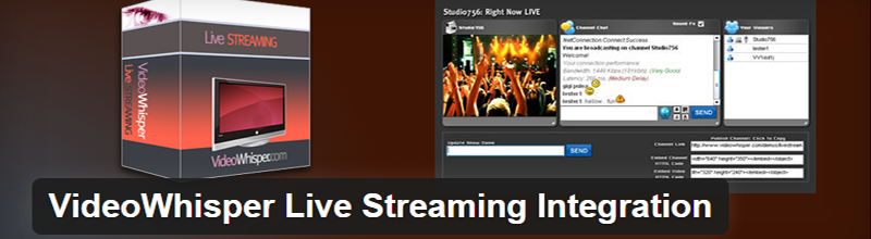 Stream your concert, class, or other events live, right from your WordPress site.