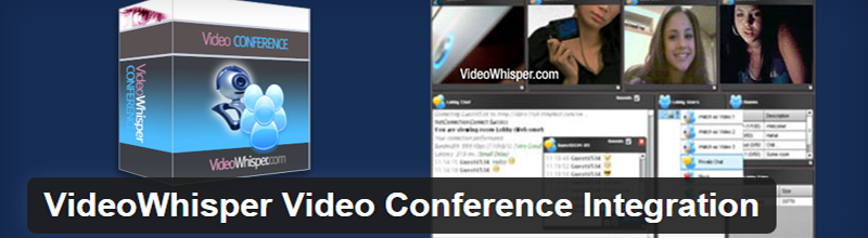 VideoWhisper's Video Conference brings video chat to a social media setting.