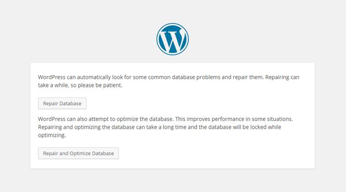 WordPress Optimization Tool